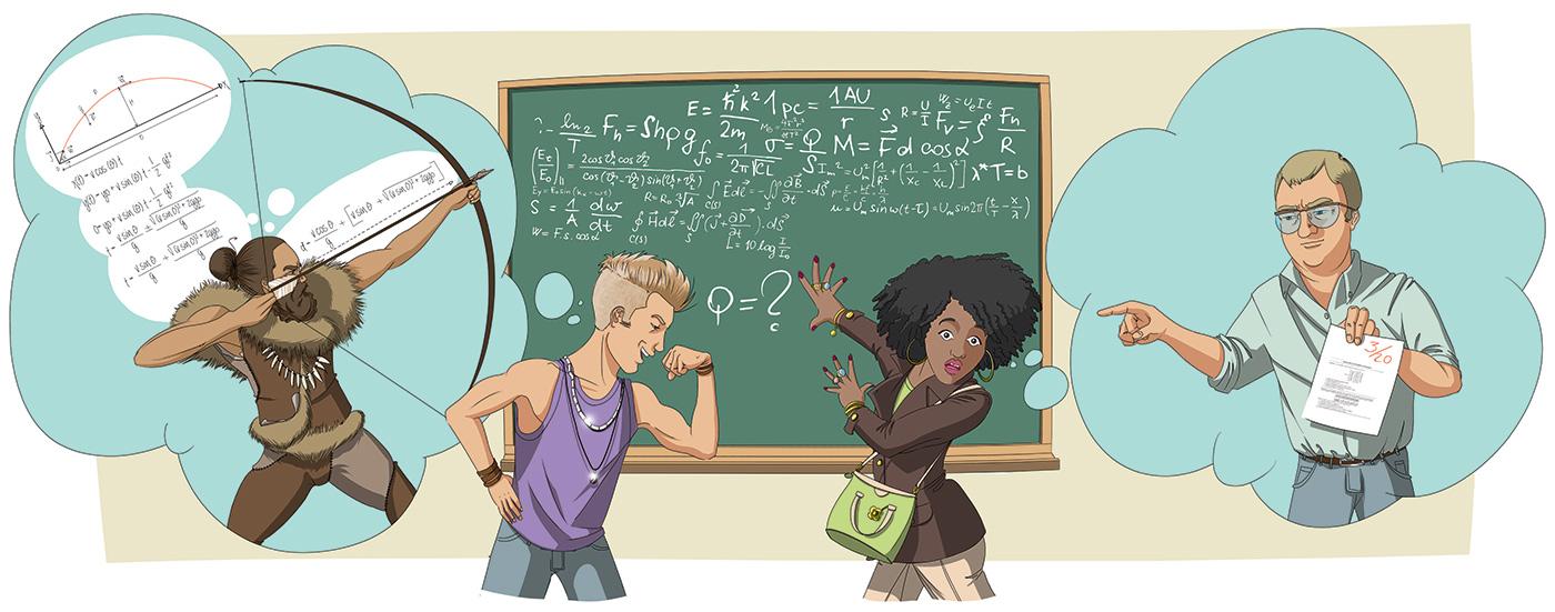 garçons, filles et mathématique