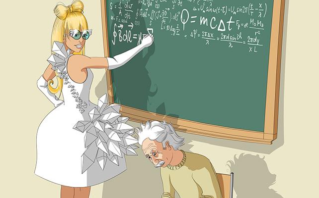 Lady Gaga et Einstein